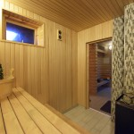 Sauna for additional fee