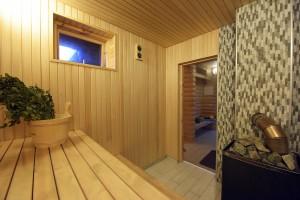 Sauna for additional fee
